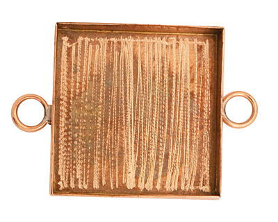 Copper Square Bezel Link 31mm