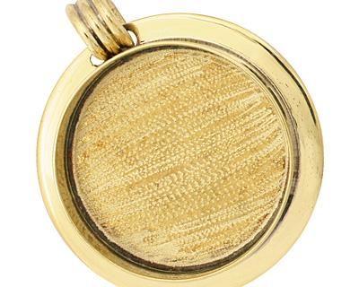 Brass Lipped Circle Bezel 36mm