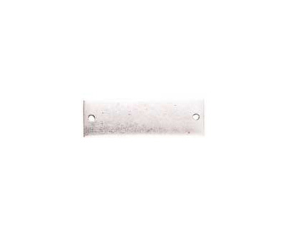 Nunn Design Antique Silver (plated) Flat Large Thin Tag Link 9x30mm