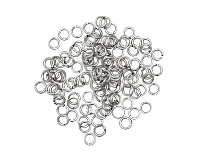 Artistic Wire Non-Tarnish Silver Chain Maille Jump Ring 2.78mm, 20 gauge