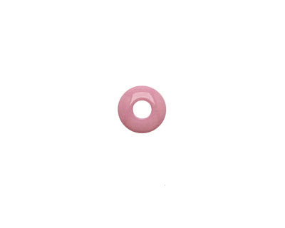 Tagua Nut Wisteria Large Hole Rondelle 3x8mm