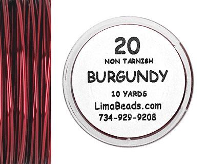 Parawire Burgundy 20 Gauge, 10 Yards