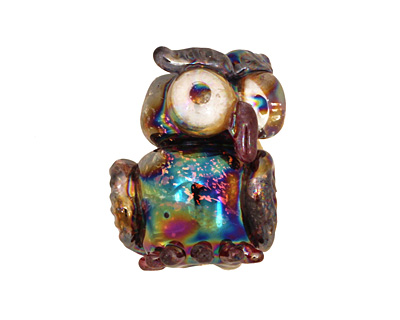 Unicorne Beads Flash Owl 23x18mm