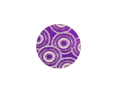 Lillypilly Purple Dandelion Anodized Aluminum Disc 19mm, 24 gauge