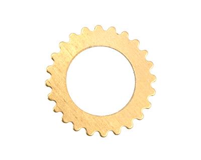 Brass Large Open Gear 25mm