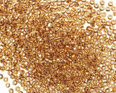 TOHO Transparent Rainbow Honey Comb Round 11/0 Seed Bead