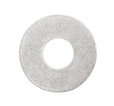Nunn Design Antique Silver (plated) Grande Circle Flat Tag Washer 31mm