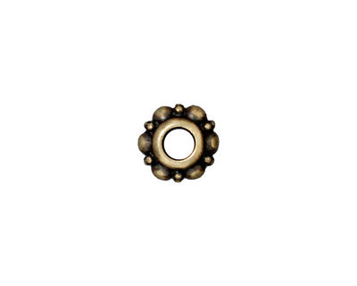 TierraCast Antique Brass (plated) Turkish Euro 5x10mm