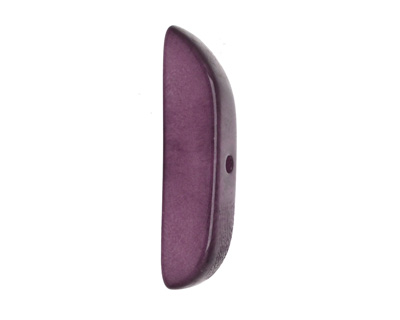 Tagua Nut Lilac Splinter (center-drilled) 7-8x28-35mm