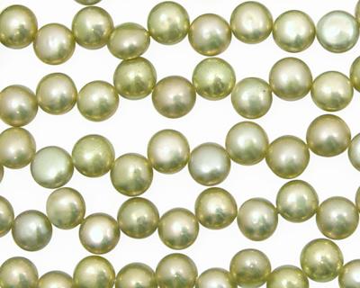 Pistachio Dancing Buttons 6-6.5mm