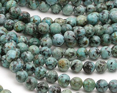 African Turquoise (AAA) Round 8mm