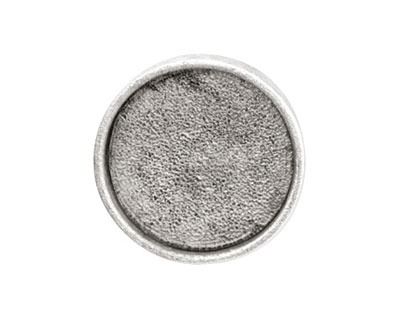 Nunn Design Antique Silver (plated) Large Circle Screw Back Bezel 23mm