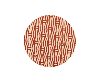 Lillypilly Bronze Reeds Anodized Aluminum Disc 25mm, 24 gauge