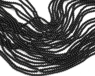 Black Onyx Round 2mm