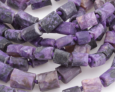 Charoite (AAA) Natural Cut Nugget 6-10x5-8mm