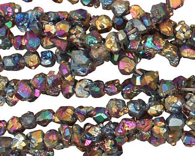 Titanium Pyrite Nugget 2-6x4-6mm