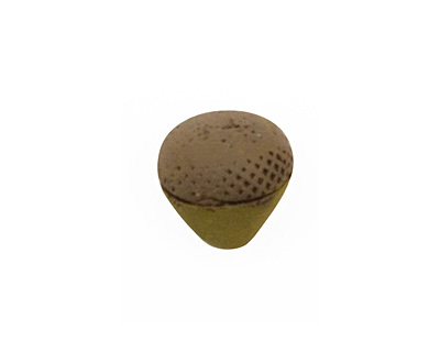 Humble Beads Polymer Clay Green Acorn 13-14x11-13mm