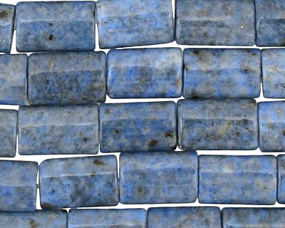 Denim Lapis Thin Pillow 12x8mm