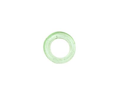 Trinket Foundry Transparent Seafoam Mini Glass Bottle Ring 11-12mm