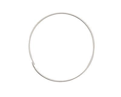 Sterling Silver Hoop Earwire 1