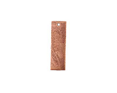 Nunn Design Antique Copper (plated) Flat Large Thin Tag 9x30mm