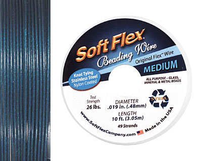 Soft Flex Dark Blue Lapis .019
