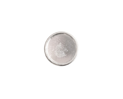 Nunn Design Sterling Silver (plated) Small Circle Frame Button 13mm