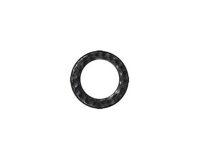 TierraCast Gunmetal Medium Hammertone Ring 13mm