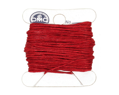 Country Red Irish Waxed Linen 4 ply