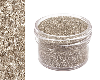 Antique Silver Vintage Glass Glitter (Fine) 1 oz.