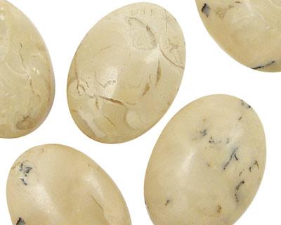 African Opal Oval Drop 18x25mm