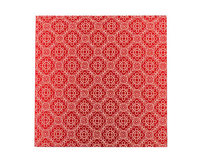 Lillypilly Red Doily Anodized Aluminum Sheet 3