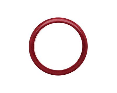 Tagua Nut Merlot Ring 22mm