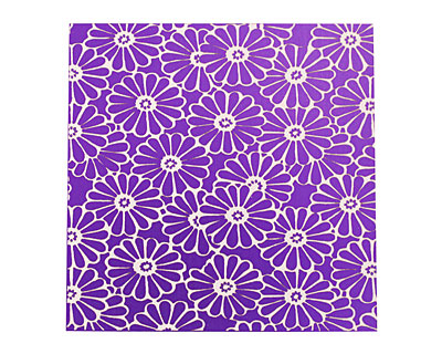 Lillypilly Purple Daisy Anodized Aluminum Sheet 3