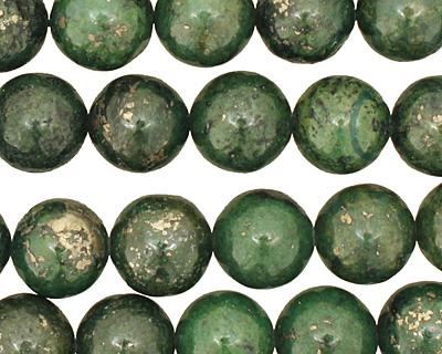 Green Chalcopyrite Round 8mm