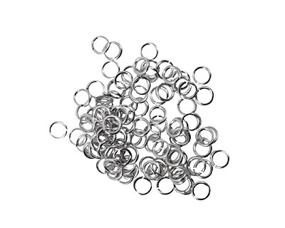Artistic Wire Non-Tarnish Silver Chain Maille Jump Ring 3.18mm, 20 gauge