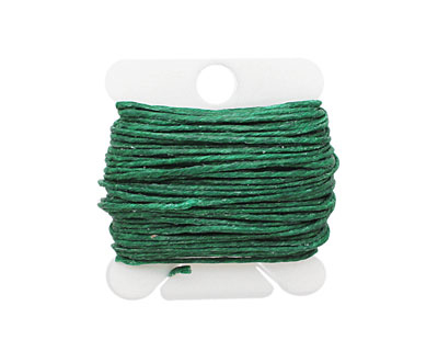 Green Irish Waxed Linen 7 ply