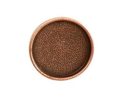 Nunn Design Antique Copper (plated) Large Circle Screw Back Bezel 23mm