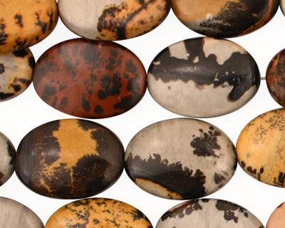 Artistic Stone Flat Oval 18x13mm