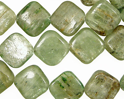 Green Kyanite Diamond 15-16mm