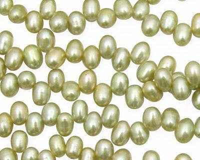 Pistachio Dancing Drops 6.5-8mm