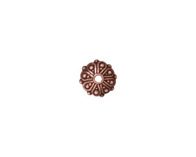 TierraCast Antique Copper (plated) Oasis Rondelle 3x8mm