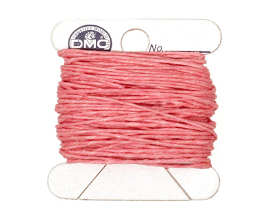 Light Rose Irish Waxed Linen 4 ply