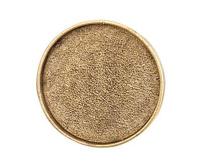 Nunn Design Antique Gold (plated) Grande Circle Screw Back Bezel 34mm