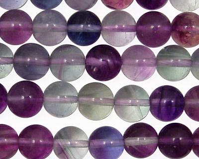Rainbow Fluorite (A) Round 8mm