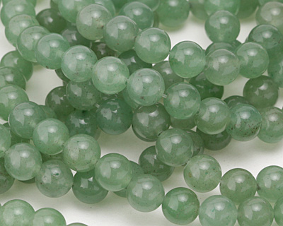 Green Aventurine (A) Round 8mm