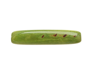 Tagua Nut Apple Tube 20-30x5-8mm