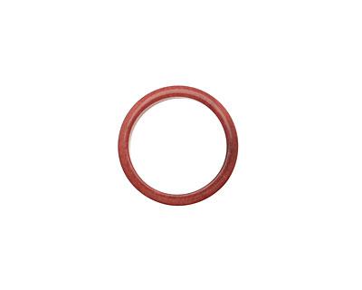 Tagua Nut Rhubarb Ring 22mm
