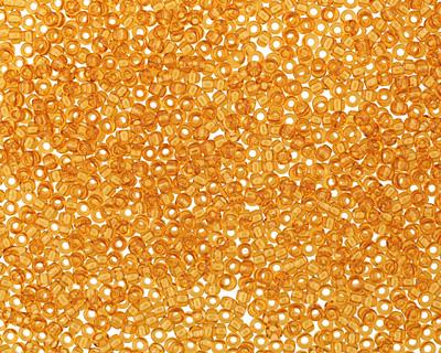 TOHO Transparent Topaz Round 15/0 Seed Bead