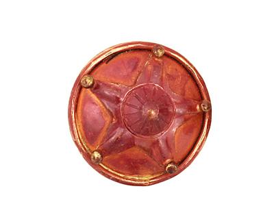 Patricia Healey Copper Bumpy Starfish Button 24mm